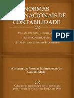 Normas Internacionais de Contabilidade