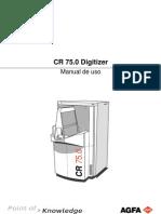 CR 75 User Manual Sp