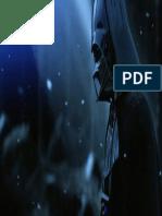 Darth Vader in the Snowy Woods - Desktop Wallpaper