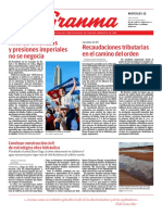 Diario Granma, Cuba, 12-06-2019