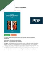 5 Pezzi Facili Per Flauto e Pianoforte PDF Ca69cecf6