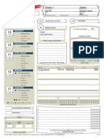 DD Character Sheet 5e Fillable