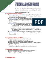 Anatomie Et Biomecanique Du Rachis