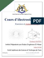 Cours_exercices _examen Electrostatique