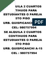 SE ALQUILA 2 CUARTOS CONTINUOS PARA ESTUDIANTES O PAREJA 5TO PISO.docx