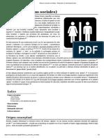 El Género en Las Ciencias Sociales