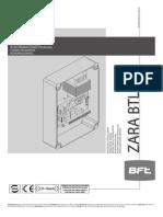 Manual de caja de control - PORTON  AUTOMOTIZADO