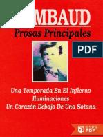 Prosas Principales - Arthur Rimbaud