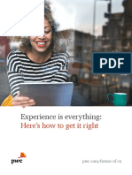 Pwc Consumer Intelligence Series Customer Experience