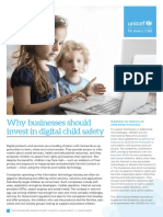 UNICEF Brief on Investing in Digital Child Safety