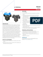 Honeywell Sensing Micro Switch Tp Rocker Product Sheet 005438 1 En