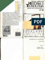 WILLIAMS, T., Historia de La Tecnologia IV. Desde 1900 Hasta 1950 - 1, Siglo XXI