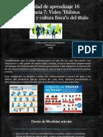 Actividad de Aprendizaje 16 Evidencia 7 Habitos Saludables y Cultura Fisica