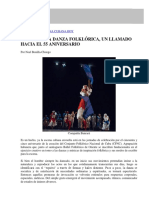Repensar La Danza Folklórica
