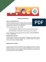 Ejercicios Practicos Apalancamiento O y F y Valor Agredado EVA(1)