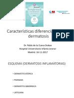 dermatología, mesa redonda