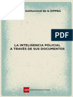 Inteligencia policial a través de sus documentos