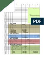 Analisis de Producion de Volquetes