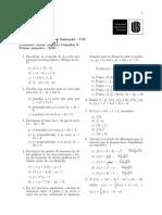 List a 2 Matemáticas i