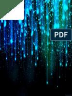 Blue & Green Falling - Desktop Wallpaper
