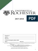 UR Here Undergraduate Handbook
