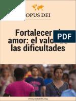 Fortalecer El Amor El Valor de Las Dificultades