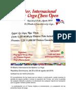 III Abierto Internacional de Ajedrez La Vega