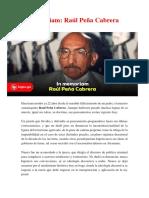 In Memoriam Peña Cabrera