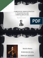 Fundamentos Ideologicos de Simón Bolívar