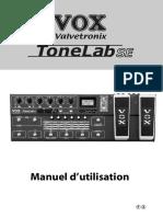 Vox Valvetronix Tonelab SE