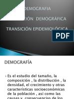 Transicion Demográfica y Epidemiolóica