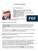 Jean Paul Sartre, ALBERT CAMUS