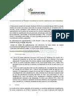 Informe aceite de cbd
