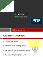 Marketing Ch. 1