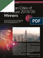 FDi American Cities of the Future 2019-20