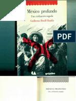 Mexico Profundo Guillermo Bonfil Batalla
