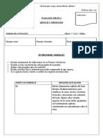 Formato de Evaluaciones Institucionales