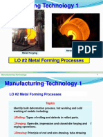 LO #2 Metal Froming Processes 201810