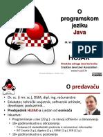 Prezentacija Webinara - Programski Jezik Java