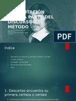 Presentación Cuarta Parte Del Discurso Del Método