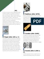 100 Inventos.docx