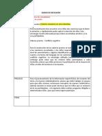 Diario de Reflexión Ejemplo