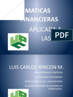 Matematicas Fiancieras Aplicadas a Las Niifs