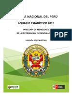Anuario PNP 2018