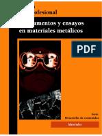 fundamentos y ensayos en materiales metalicos