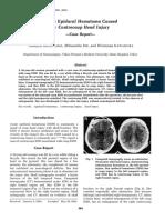 Kasus Acute Epidural Hematome Caused by Contrecoup Head Injury