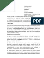 Solicitud de Ofrecimiento de Pago y Consignacion (2)