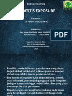 Keratitis Exposure