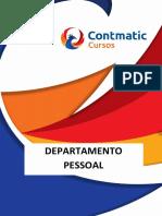 Apostila - Departamento Pessoal - Cursos Contmatic