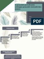 Prevalensi Penyakit Periodontal, Hubungan Dengan Penyakit Sistemik
